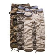 ワイドレッグパンツ  迷彩 柄  ロングパンツ 韓国ファッション 7色 28-40