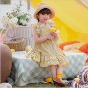 ワンピース 花 プリンセス キッズ 女の子 韓国子供服 2020新作 SALE ファッション 動画あり m14749