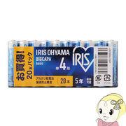 アイリスオーヤマ アルカリ 乾電池 BIGCAPA basic 単4形 20本パック LR03BB-20P