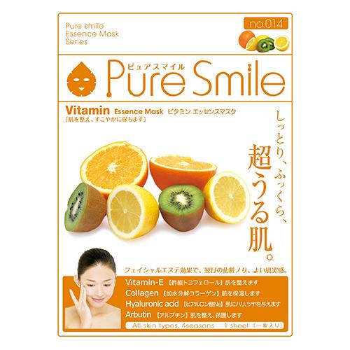 サンスマイル ピュアスマイル エッセンスマスク化粧水タイプ ビタミン 014