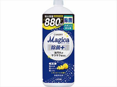 CHARMY Magica チャーミーマジカ 除菌+ レモンピールの香り 詰替え 大型 880ml 【 食器用洗剤 】