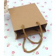 新作【包装資材】可愛い紙袋★小物入り★クラフト紙★ハトロン紙の袋★無地紙袋