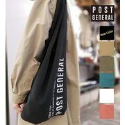 【POSTGENERAL】ポストジェネラル ショッパーバッグ 5色