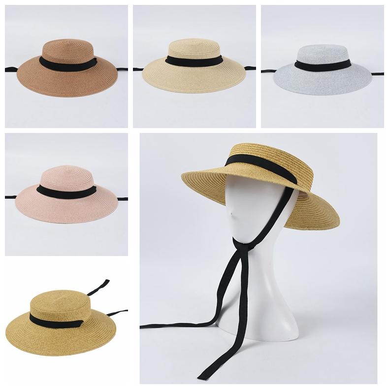 新発売 麦わら帽子 バイザーハット 帽子 レディース UVカット  サンバイザー