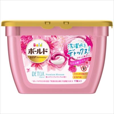 ボールド ジェルボール3D 癒しのプレミアムブロッサムの香り 本体 17個入 【 P&G 】 【 衣料用洗剤 】