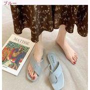 サンダル 靴 女 新しいデザイン スリッパ 韓国風 フラット 女靴 セット 足指シークレ