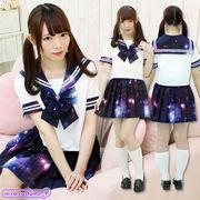 1140F★MB■送料無料■ 宇宙ロマンティックセーラー 色:紫 サイズ:M/BIG