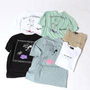 【2020春夏新作】ユニセックス グラフィック スケートプリント BIG 半袖 Tシャツ