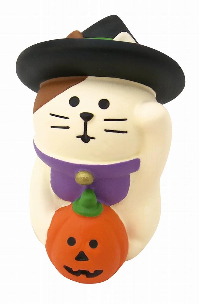 コンコンブル concombre ハロウィンまねき猫 ZHW-43403