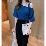 【大きいサイズM-4XL】【春夏新作】ファッションTシャツ♪全4色◆