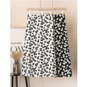 【大きいサイズXL-4XL】ファッションスカート♪ブラック/ホワイト2色展開◆