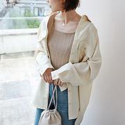 【X-4】オーバーサイズ 長袖 シャツ ジャケット