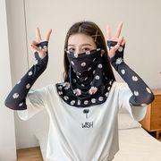 フェイスマスク フェイスガード ラッシュガード サイクリング 日焼け対策 紫外線対策 ネックガード