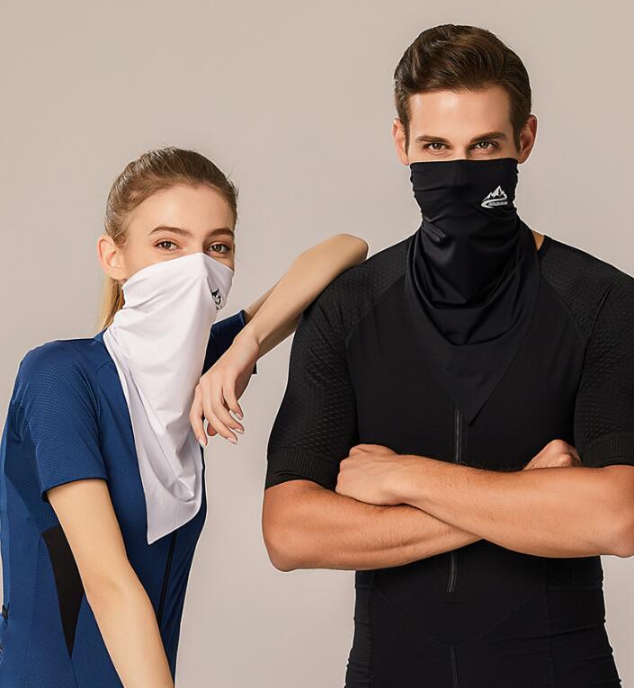 花粉・飛沫・ウイルス対策 日焼け防止 自転車 マスク フェイスマスク フェイスガード 帽子 登山