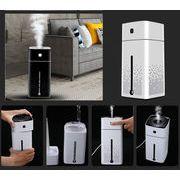 加湿器 1000ml卓上 アロマ加湿器 室内乾燥対策 大容量 オフィスミュートUSB加湿器