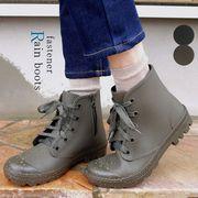レインブーツ レディース 靴 ショート アウトドア キャンプ 防水 履きやすい