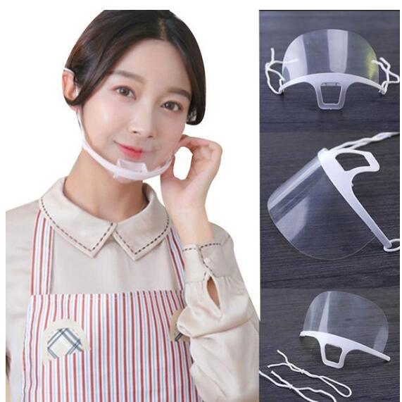 透明マスク  プラスチックマスク 透明マスク 業務用 調理用 マスク クリアマスク