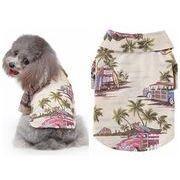 夏新作 ペット服 ペット雑貨 犬服 猫服 可愛い ペット用品 ネコ雑貨 シャツ ハワイ