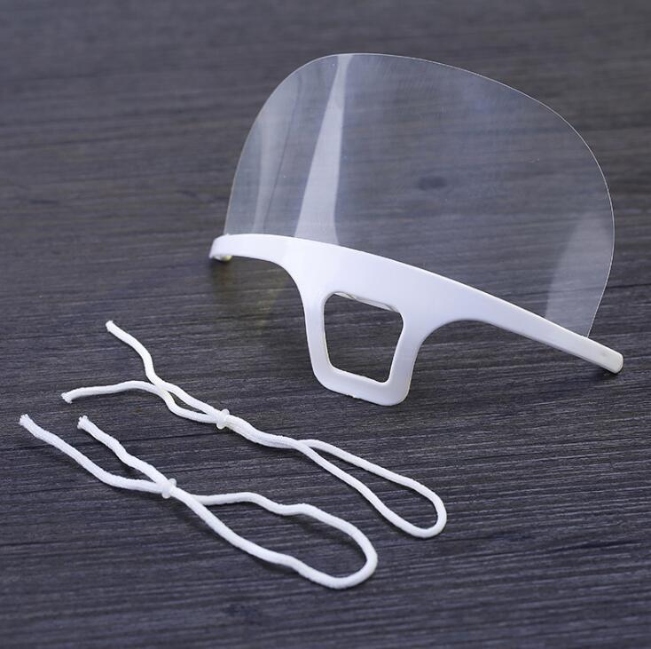 透明マスク プラスチックマスク 笑顔見えるマスク 業務用 調理用 飲食店 クリアマスク 飛沫防止