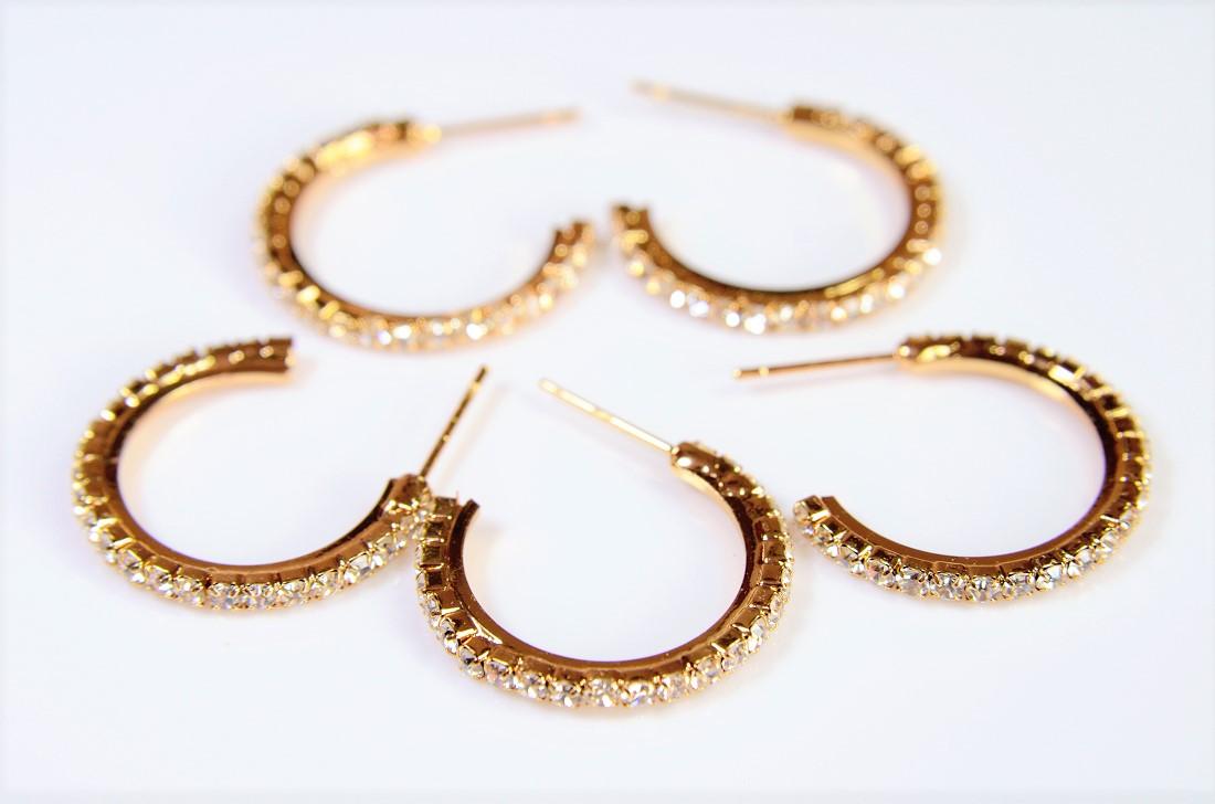 【高品質銅製品】基礎金具ピアス金具/ダイヤチェーン/連爪チェーンのピアス金具