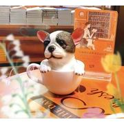フレンチブルドッグ シュナウザー 樹脂犬 プレゼント 装飾用 動物モデル