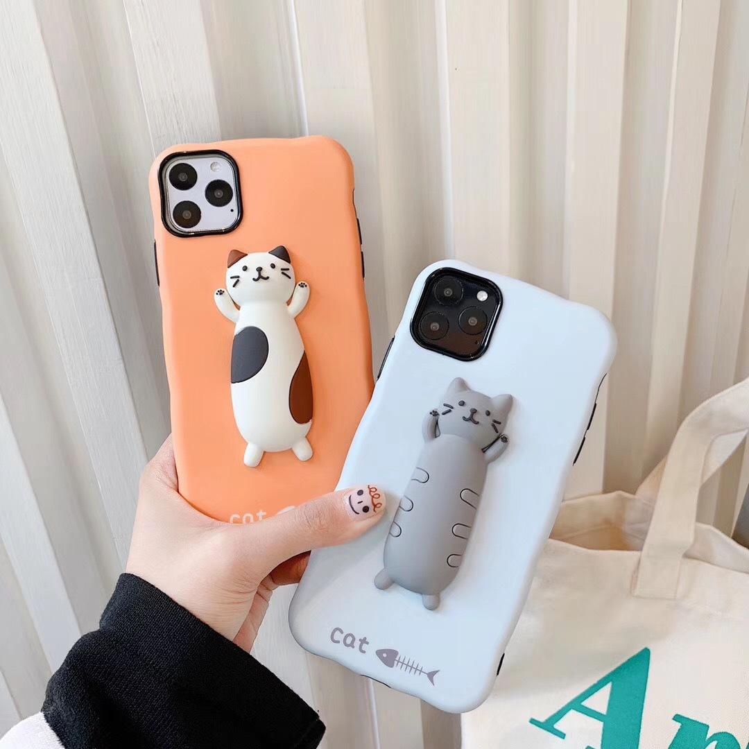 スマホケース 猫柄iphoneXカバー iphone ケース ソフト