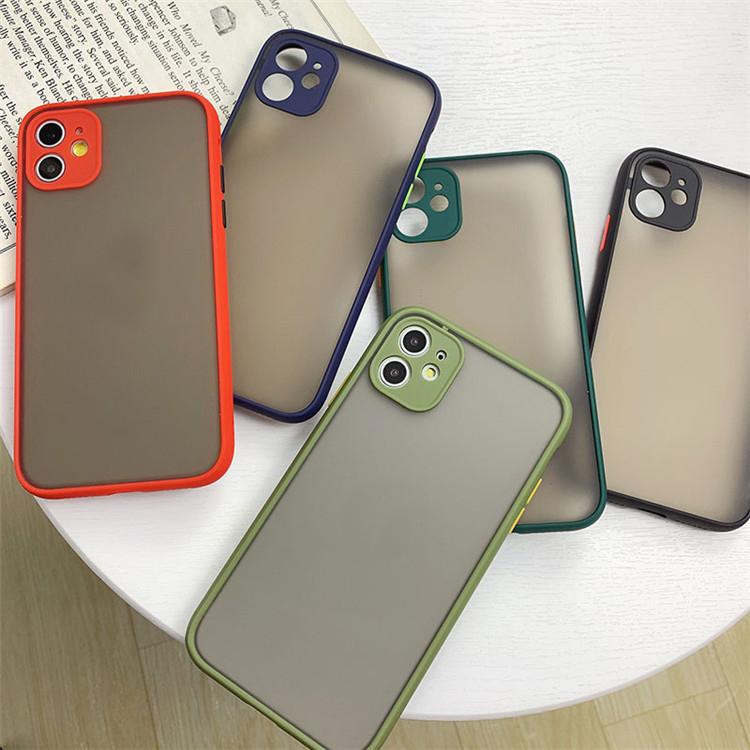 スマホケース 半透明iPhone12 Pro Max ケース iPhone ケース