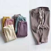 全6色 女の子男の子 レギンスパンツ ズボン ボトムス ベビー キッズ 子供服