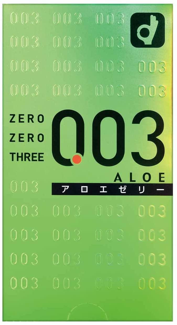 オカモト ゼロゼロスリー(0.03)アロエ 10個入