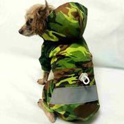 新作 夜の反射効果あり けん引釦付き レインコート  ドッグウェア 犬 犬の服  ペットグッズ(S-XXL)