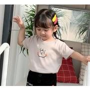 激安!人気アイテム★子供服★キッズ服★半袖シャツ★Tシャツ★女の子★男の子★笑顔★5色80-120