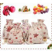 【業務用】包装資材★巾着袋★ギフトバッグ★プレゼント入れ★クリスマス★収納袋★ラッピング袋★多色