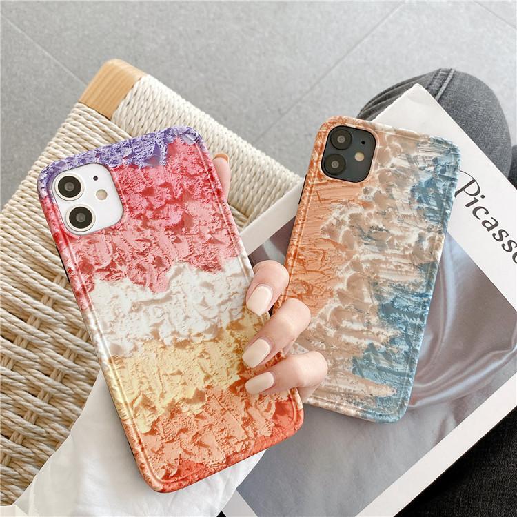 油絵風 iPhoneXS Maxケース 男女兼用 iPhone11 スマホケース