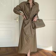 u17063 ワンピース ドレス カジュアル ミドル 大きいサイズ 2020新作 SALE