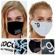 COOL MASK N9刺繍 COCO HOLLYWOOD セレカジ 夏マスク 冷感マスク 水洗可  UVカット 3枚セット