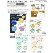 【Kamio Japan】INDEX FUSEN CLIP 4種 2020_8月下旬発売