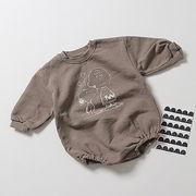 韓国 子供服 セーター ベビー ロンパース ジャンプスーツ  男女共用 2020秋 65-100