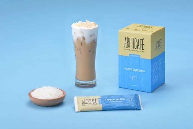 ベトナムコーヒー ココナッツカプチーノ アーチカフェ インスタントコーヒー スティック 1箱12袋入