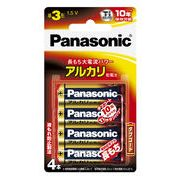 パナソニック 単3乾電池 4P LR6XJ/4B