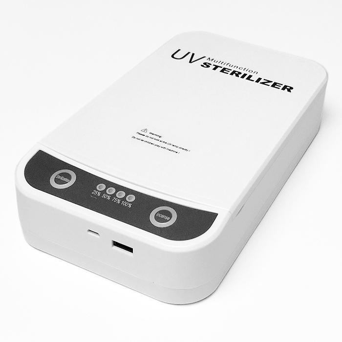 ポータブル 多機能 UV サニタイザー 滅菌ボックス 日本語取扱書付き