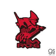 エヴァンゲリオンレーシング  EVA Racing EVARACING 初号機 赤 キャラクターステッカー LCS1227 2020新作