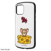 iPhone 12 / 12 Pro トムとジェリー/耐衝撃ケース MiA/ジェリーとチーズ/スタンダード