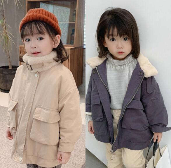 秋冬新作 フワフワコート 女の子 子供 キッズ ジャケット コート カジュアル