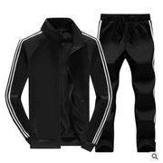 冬 メンズセットアップ メンズジャケットセット スポーツセット スウェット+パンツ