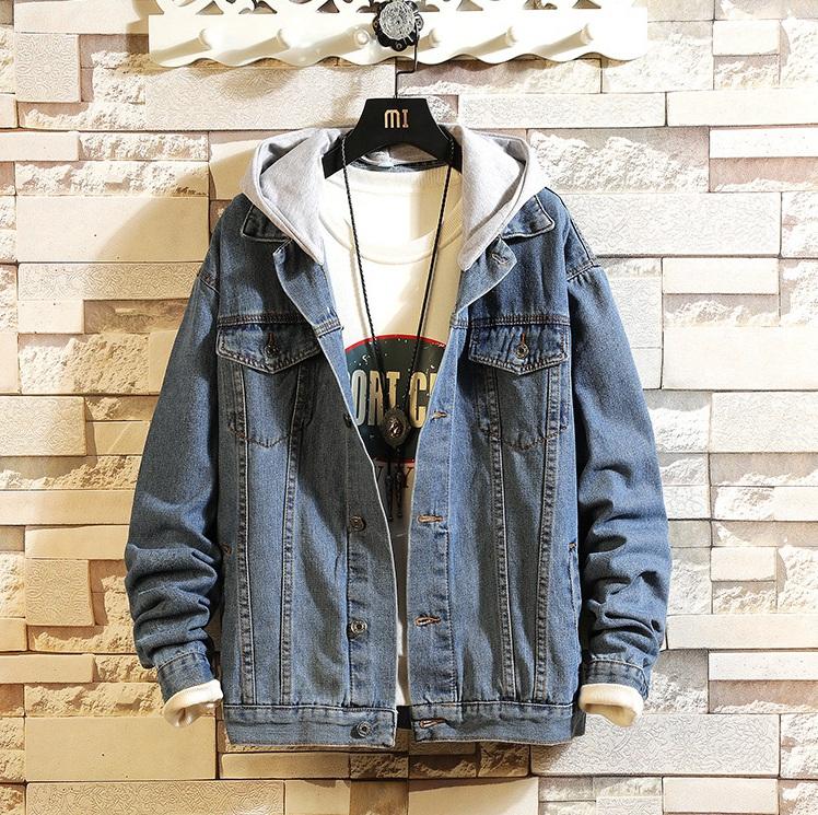 人気 ビックサイズ メンズファッション 春秋季 シンプル デニム ジャンバー ジーンズ ジャケット トップス