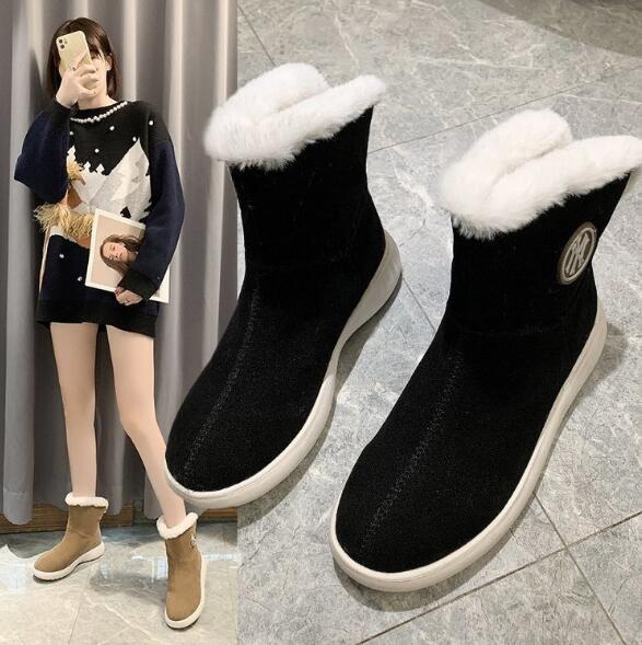 シューズ 靴 ムートンブーツ 防寒 フラット デザイン 秋冬 ファッション