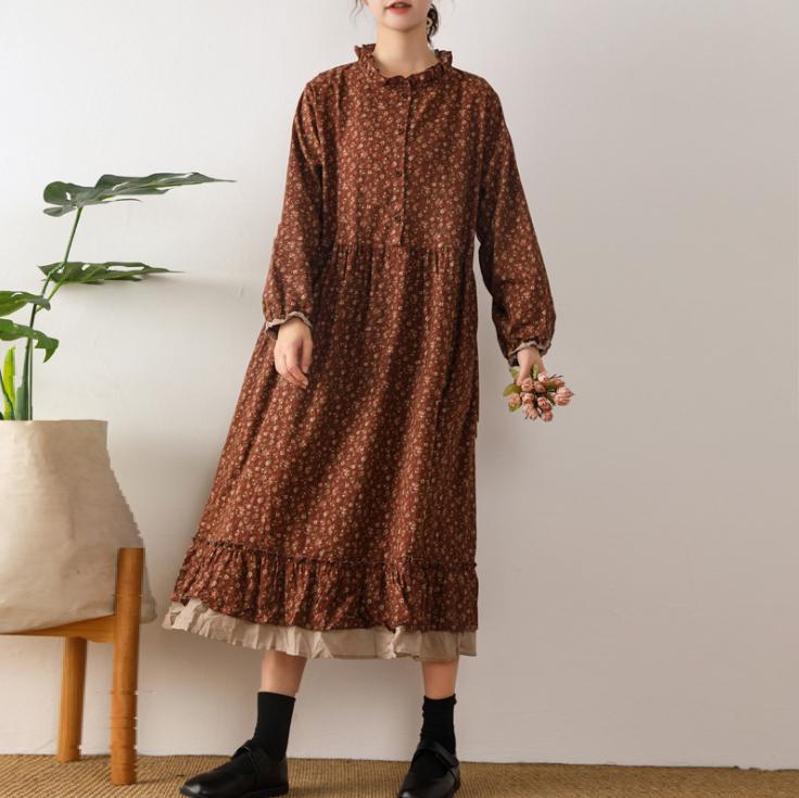 韓国ファッション 秋冬 レディースファッション ワンピース スカート 韓国スタイル 長袖 快適である