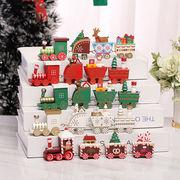 Christmas限定 おもちゃ ミニ汽車 玩具 クリスマス飾り 卓上 ショーウインドー 店舗 オーナメント