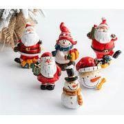 Christmas限定 サンタ おもちゃ 玩具 マスコット クリスマス用品 卓上 ショーウインドー 店舗 オーナメント