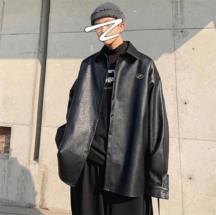 ≪今だけ お試し価格≫韓国ファッション タイドブランド レザー 大人気 コート オートバイ服 秋 学生